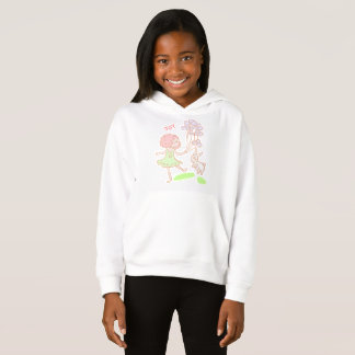 'Like Mandy' Girls' Fleece Pullover Hoodie