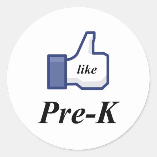 LIKE PRE-K STICKERS