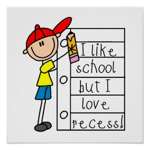 Like School Love Recess Posters