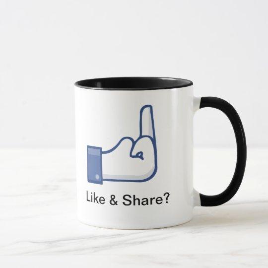 Like & Share? Mug