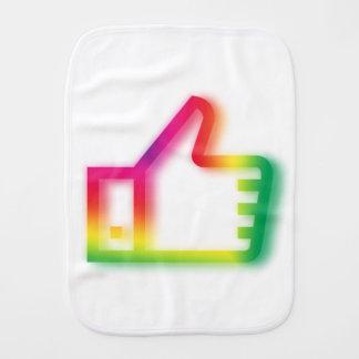Like this ! burp cloth