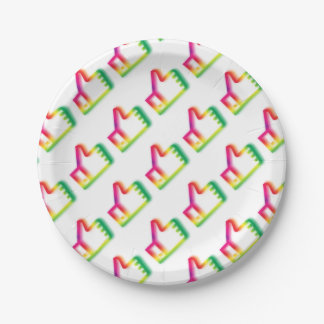 Like this ! paper plate