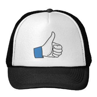 Like Thumb Up Fun Trucker Hat