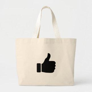 Like undermedia jumbo tote bag