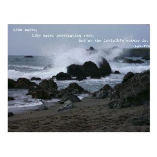 Like water postcard