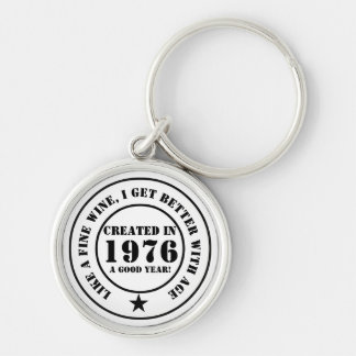 Like wine, I get older and better! Keychain