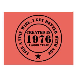 Like wine, I get older and better! Postcard