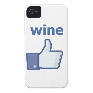LIKE wine iPhone 4 Covers