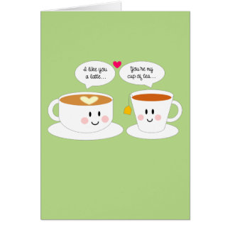 Like You A Latte Anniversary Card
