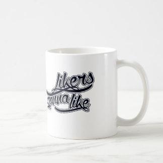 Likers gonna like classic white coffee mug