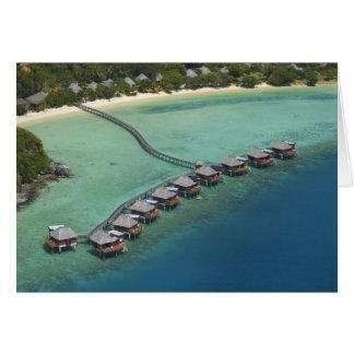 Likuliku Lagoon Resort, Malolo Island, Fiji Card