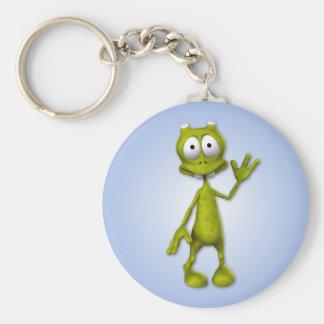 Lil' Alien Keychain