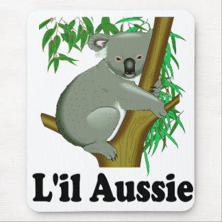 L'il Aussie. Cute Australian Koala Mouse Pad