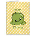 Lil Baby Turtle Card