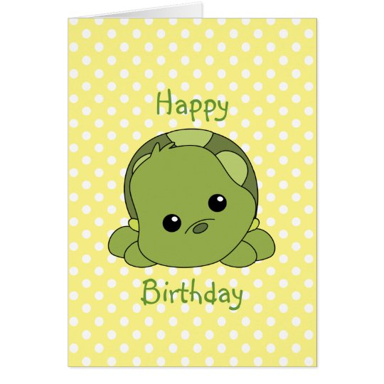 Lil Baby Turtle Greeting Card