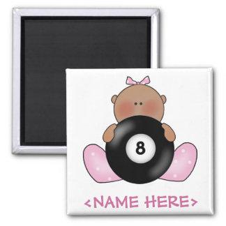 Lil Billiards Baby Girl - Girl Magnet