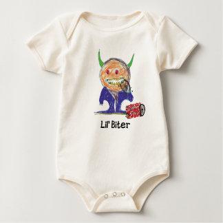 Lil' Biter Scrap Kins Organic Baby Bodysuit