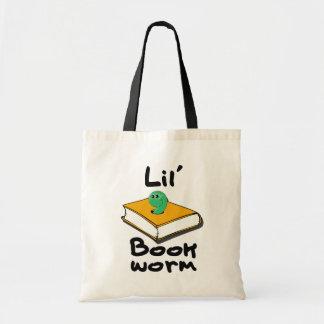 Lil' Bookworm Tote Bag