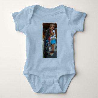Lil' Brah Loves Salty Sis Baby Bodysuit