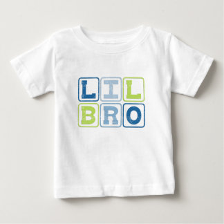 LIL BRO OUTLINE BLOCKS BABY T-Shirt