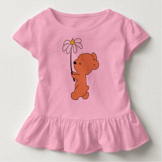 Lil Brown Bear Ruffle Tee