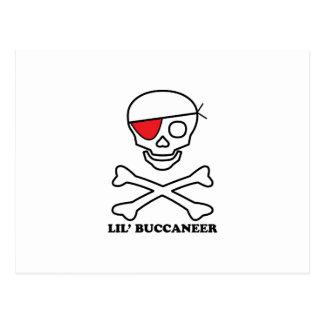 Lil Buccaneer Postcard