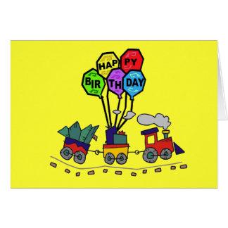 Lil Choo Choo Train Birthday Card