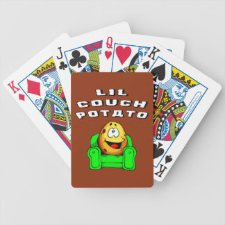Lil Couch Potato Bicycle Playing Cards