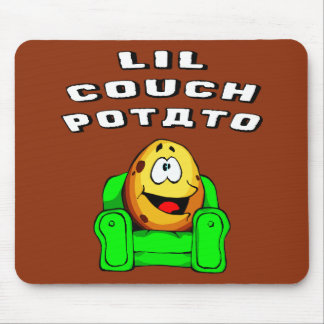 Lil Couch Potato Mouse Pad