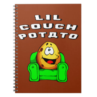 Lil Couch Potato Notebooks