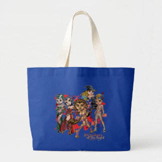 "Lil Creatures of the Night 1"" Large Tote"