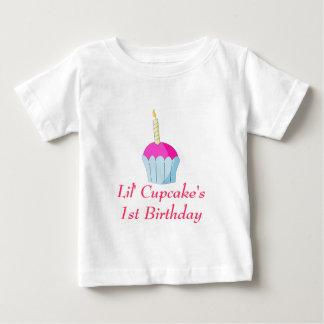 Lil' Cupcake's1st Birthday Baby T-Shirt