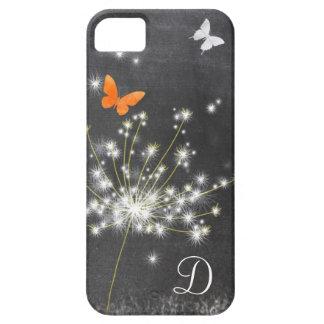 Lil Dandelion + Chalkboard Monogram iPhone 5/5S iPhone 5 Case