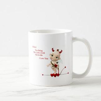lil devil, cupid envelope mug