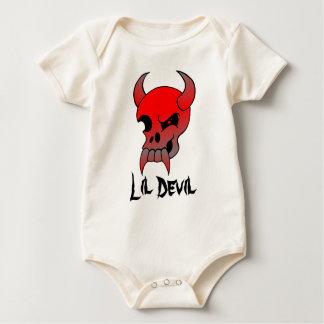 Lil Devil Skull Baby Bodysuit