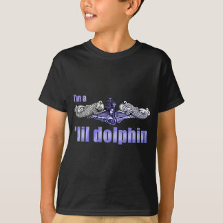 Lil Dolphin Silver Dolphins T-Shirt