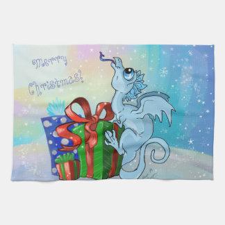 lil' Dragon Snowflake Kitchen Towel
