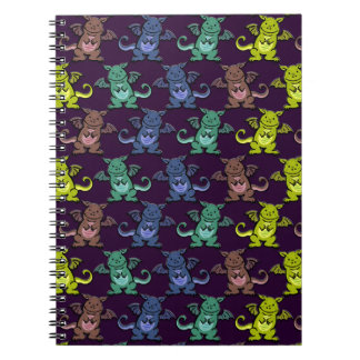 Li'l Dragons Spiral Notebook