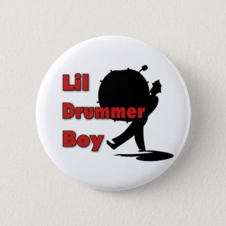 Lil Drummer Boy 2 Inch Round Button