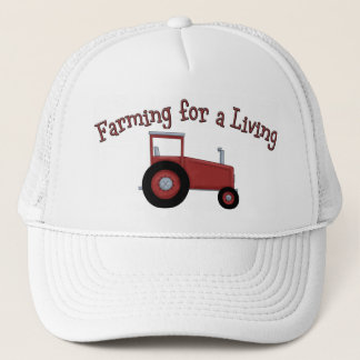 Lil' Farmers Tractor Farming for a Living Cap