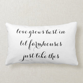 Lil Farmhouse Pillow