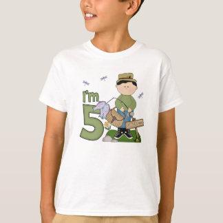 Lil Fisherman 5th Birthday T-Shirt