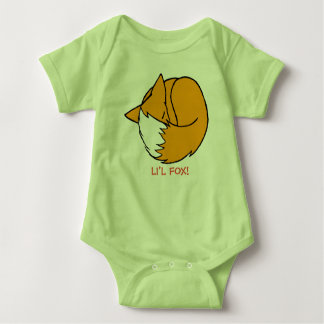Li'l Fox! Baby Bodysuit
