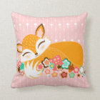 Lil Foxie Cubs - Cute Girl & Boy Foxes Pillow