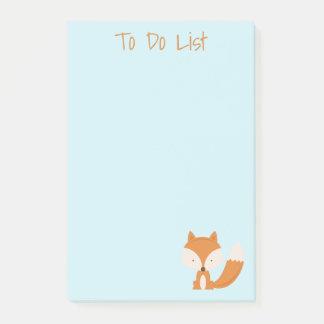 Lil' Foxy Post-it® Notes 4 x 6