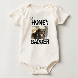 Lil' HONEY BADGER Baby Bodysuit
