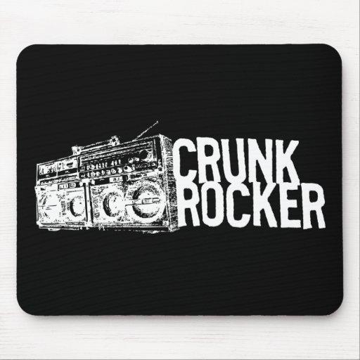 "Lil Jon ""Crunk Rocker Boombox White"" Mouse Pad"