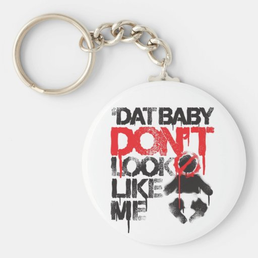 """Lil Jon """"Shawty Putt- Dat Baby Don't Look Like Me"""" Basic Round Button Keychain"""