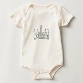 Lil King Baby Bodysuit