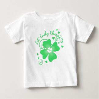 Lil' Lucky Charm Four Leaf Clover Baby T-Shirt